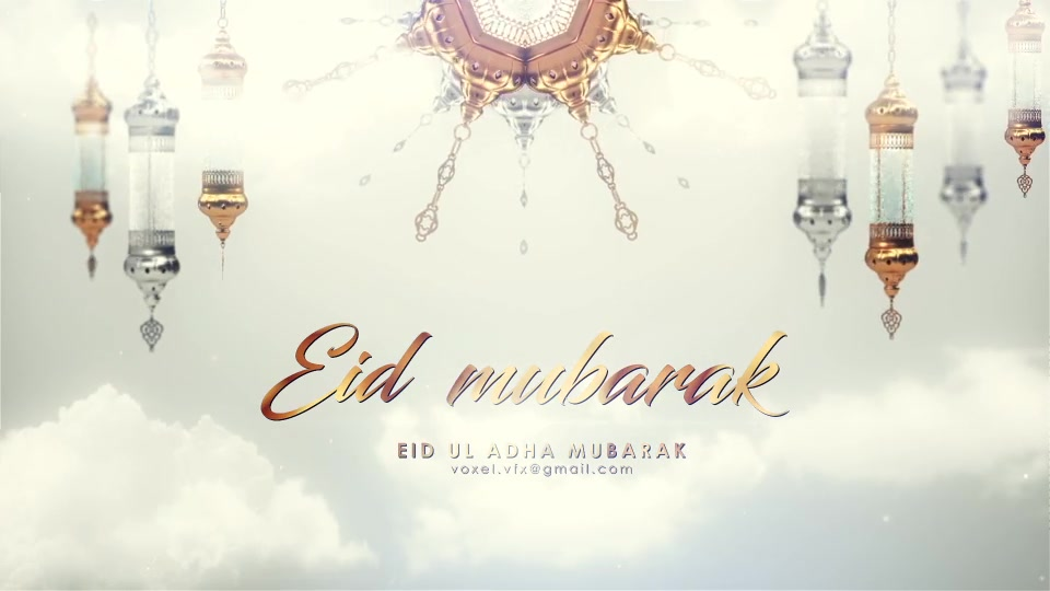 EID Mubarak Opener Videohive 24319157 After Effects Image 5