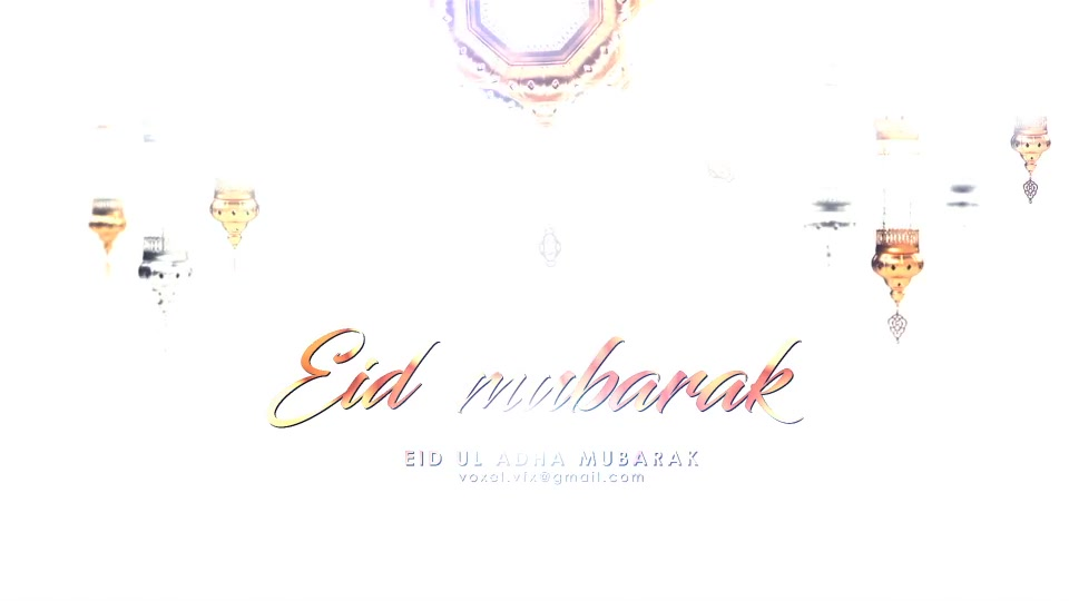EID Mubarak Opener Videohive 24319157 After Effects Image 6