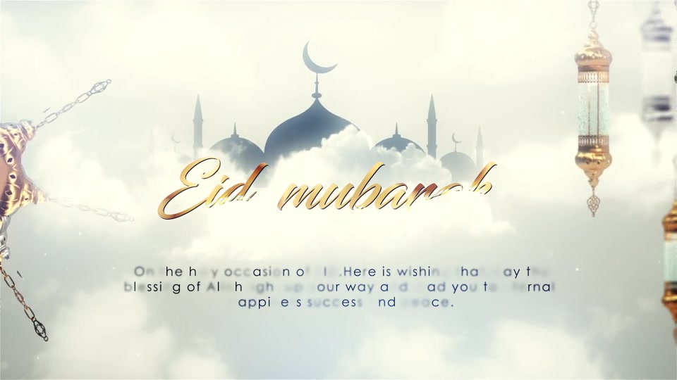 EID Mubarak Opener Videohive 24319157 After Effects Image 8