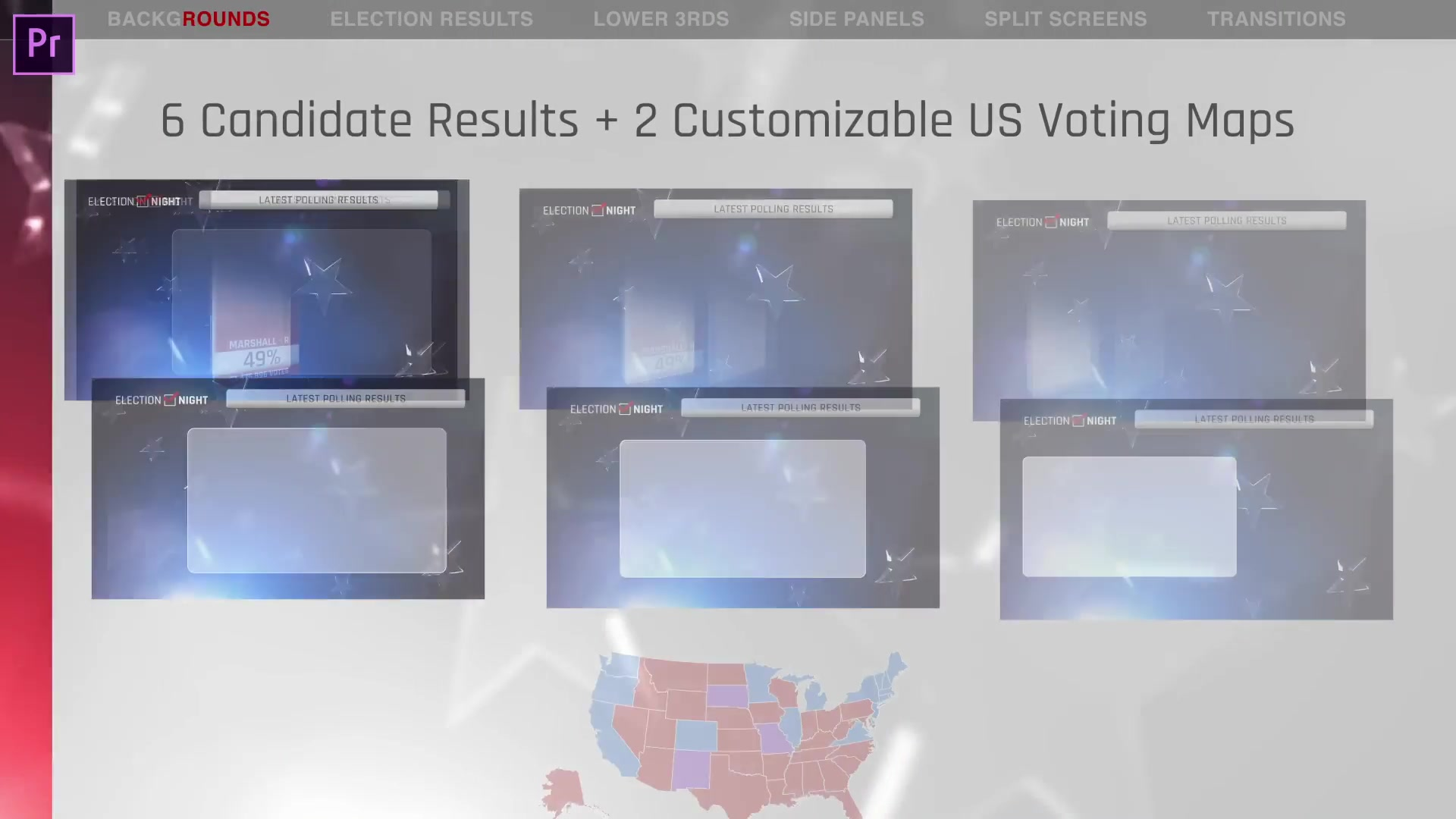 Election Night 2018 | Mogrt for Premiere Pro - Download Videohive 22670178
