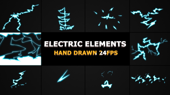 ELECTRIC Elements And Transitions - Download Videohive 21254042