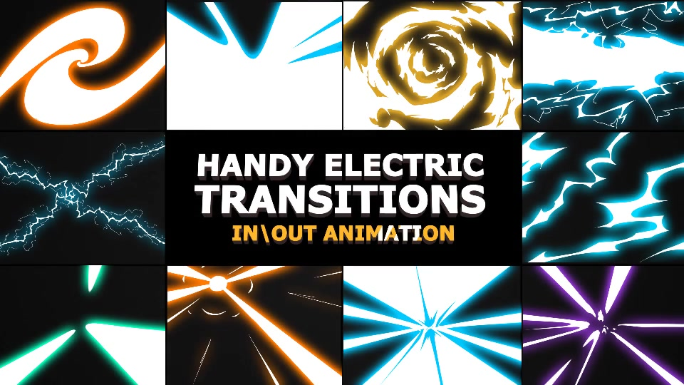 Electric Transitions - Download Videohive 21464119