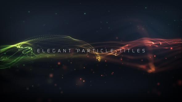 Elegant Particle Titles - Download Videohive 20159683