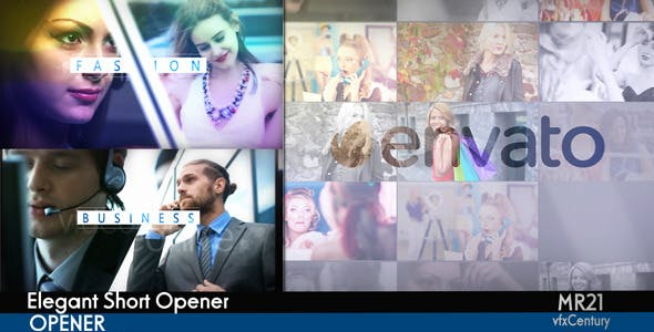 Elegant Short Opener - Download Videohive 11530607