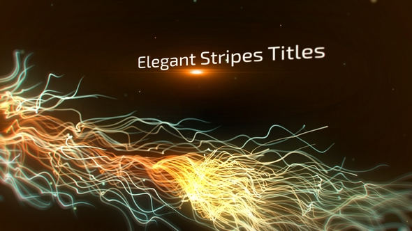 Elegant Stripes Titles - Download Videohive 16825589