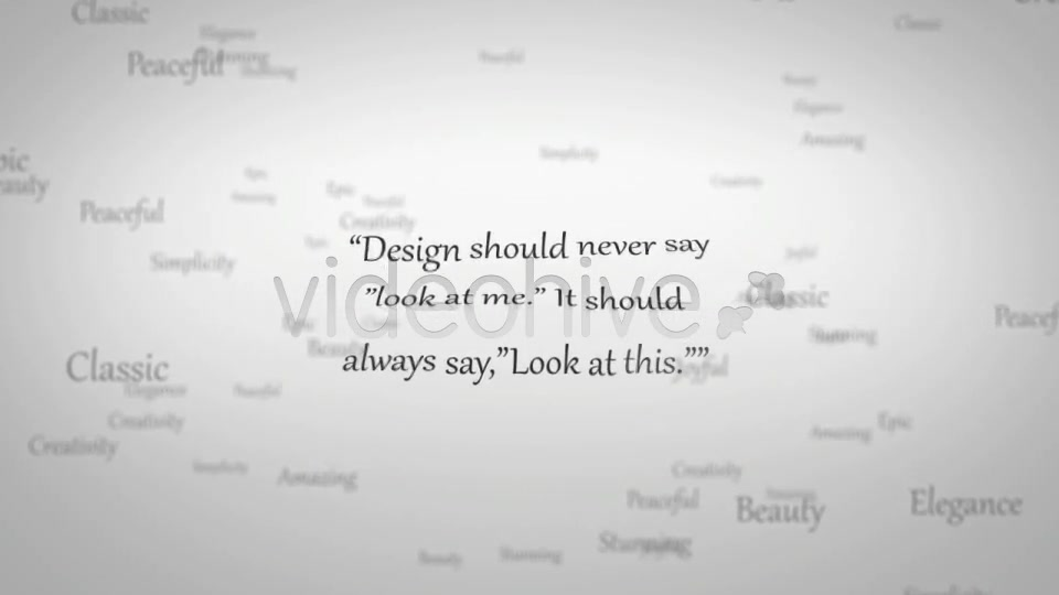 Elegant Typography - Download Videohive 118110
