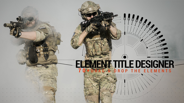 Element Title Designer - Download Videohive 19958574
