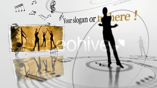 Ellegant Ballet Dancers Video display presentation - Download Videohive 137576