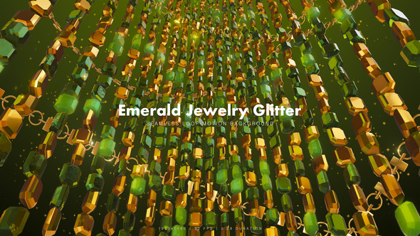 Emerald Jewelry Glitter 5 - Download Videohive 20291478