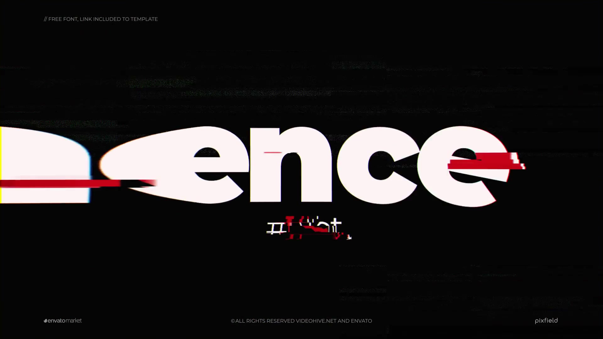 Eminence | Glitch Logo Videohive 24990819 After Effects Image 2