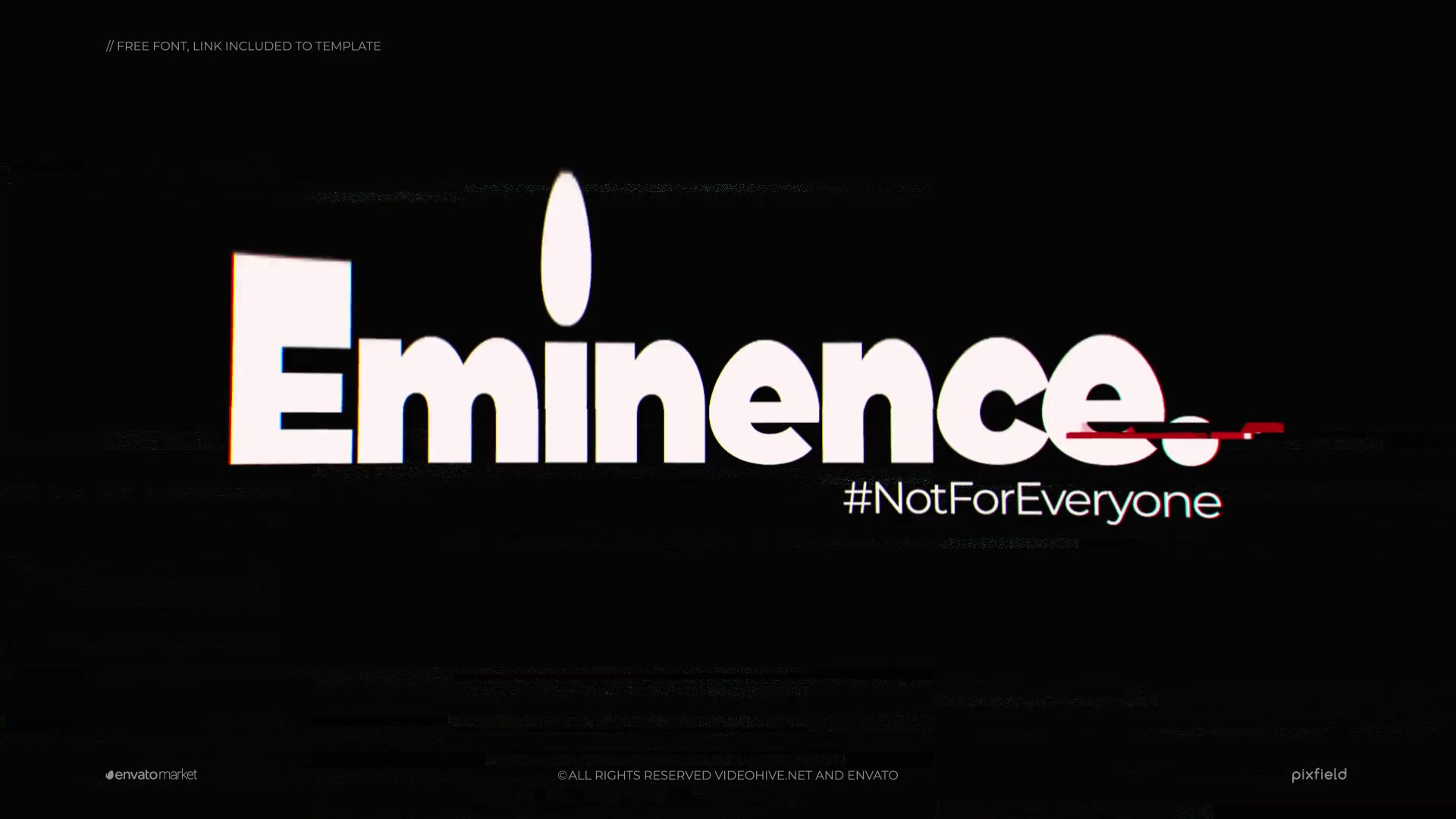 Eminence | Glitch Logo Videohive 24990819 After Effects Image 3