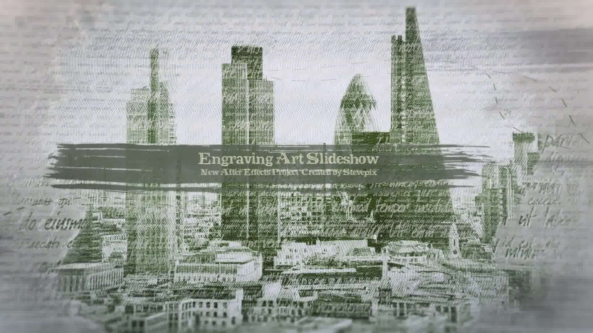 Engraving Art Slideshow - Download Videohive 21039520