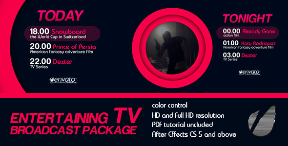 Entertaining TV Broadcast Package - Download Videohive 6278769