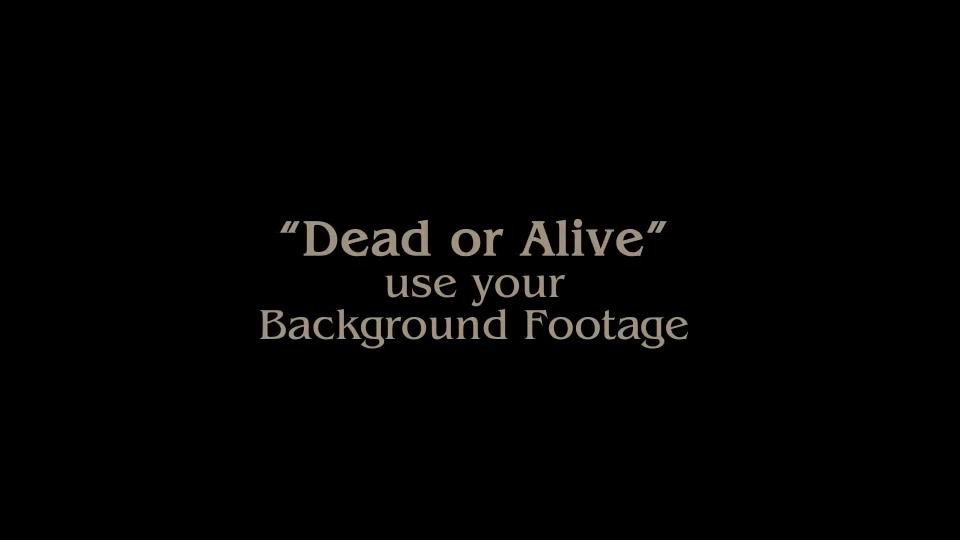 Epic Dead or Alive Logo - Download Videohive 21841763