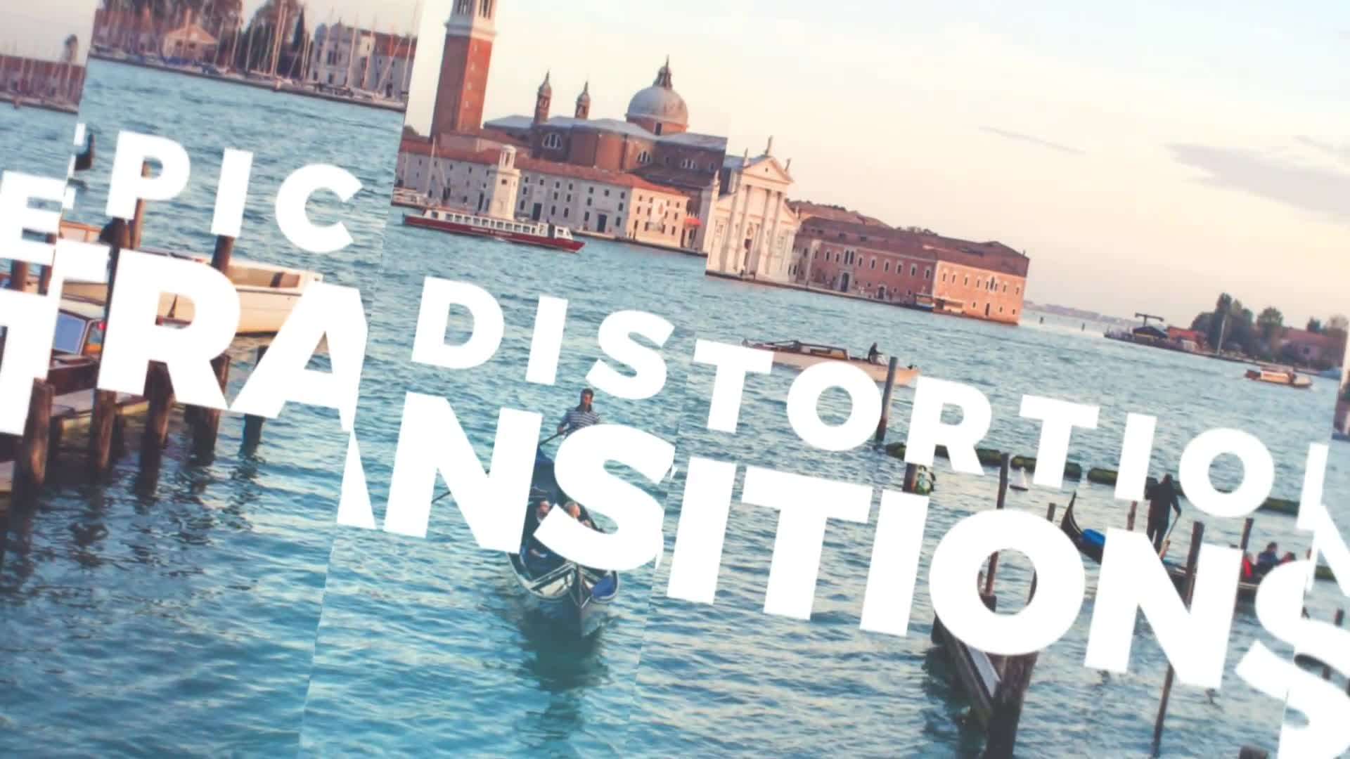Epic Distortion Transitions - Download Videohive 20553807