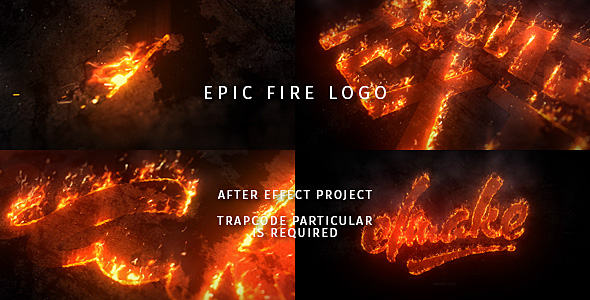 Epic Fire Logo - Download Videohive 20431154