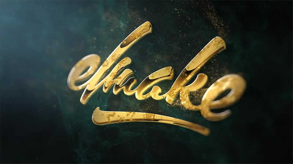 Epic Golden Logo - Download Videohive 15949167