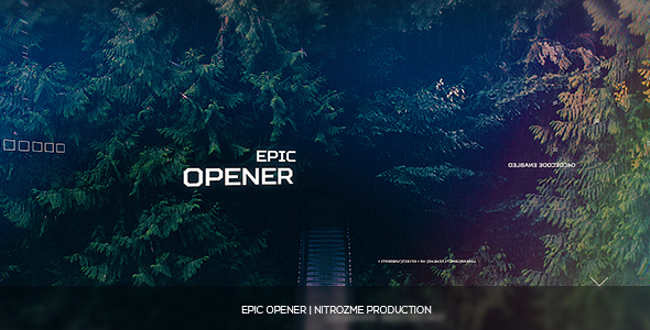 Epic Opener - Download Videohive 16916919