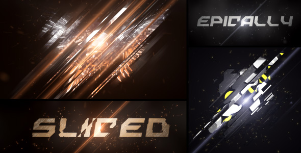 Epic Sliced Logo - Download Videohive 19526799