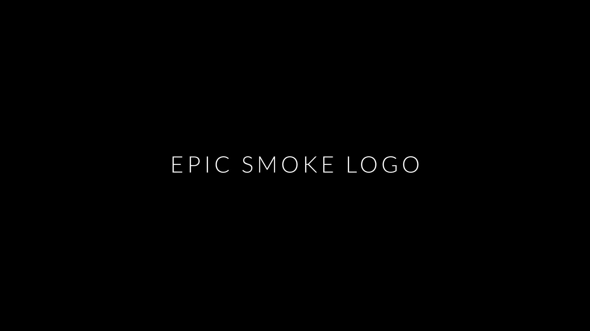Epic Smoke | Logo Reveal - Download Videohive 22578459