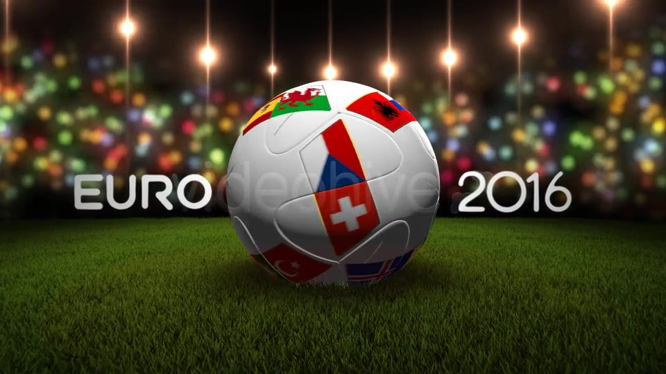 Euro 2016 Teams BALL - Download Videohive 15814819