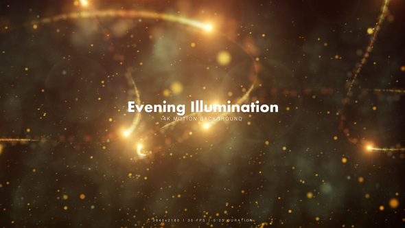 Videohive Evening Illumination 2 12700544