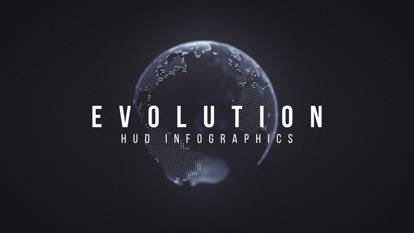 Evolution HUD Infographic - Download Videohive 9957499
