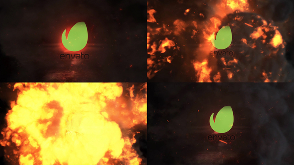 Exploding Logo Reveal - Download Videohive 22894281