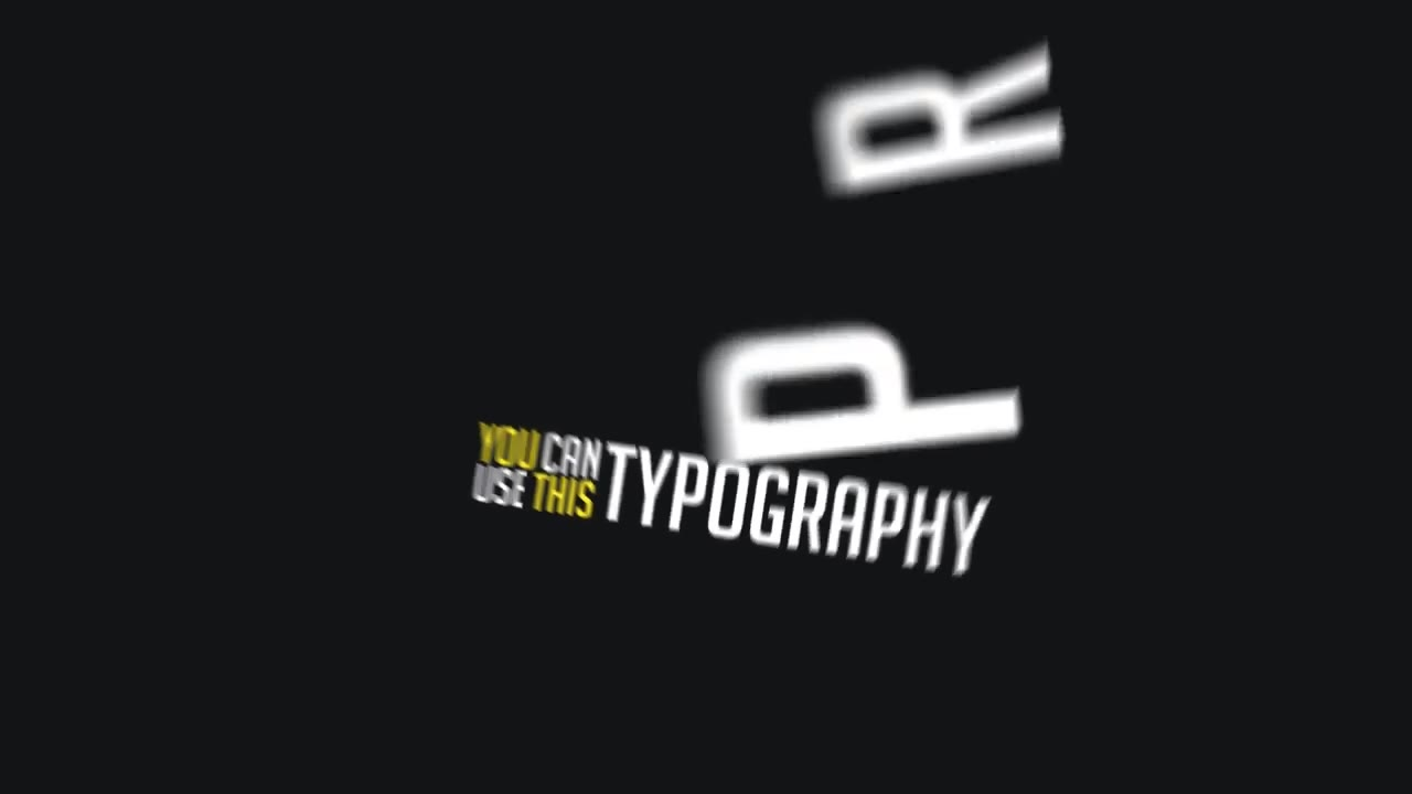 Extended Typography Mogrt - Download Videohive 21966968