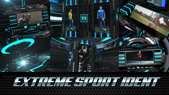 Extreme Sport Ident Broadcast Package - Download Videohive 11051767