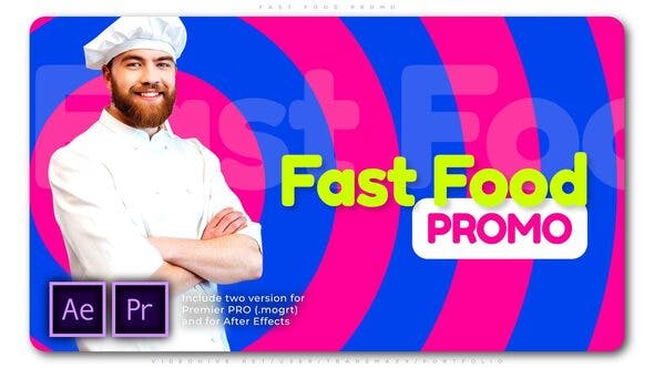 Fast Food Promo - Download 25766293 Videohive
