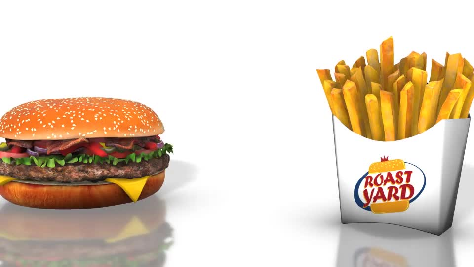 Fast Food Template - Download Videohive 20224445