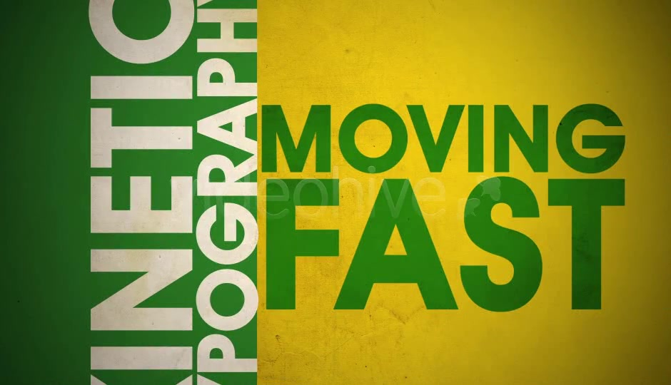Fast Kinetic Typography - Download Videohive 4709887