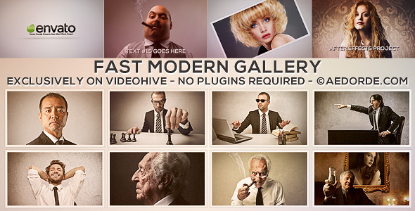 Fast Modern Gallery - Download Videohive 6176237