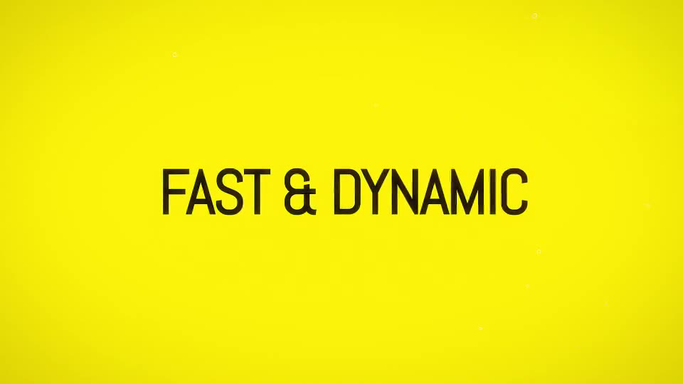 Fast Slide & Typo Intro - Download Videohive 19310197