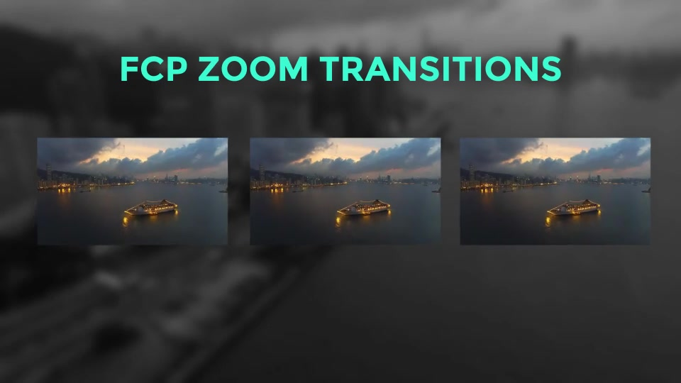 FCP Zoom Transitions - Download Videohive 19977491