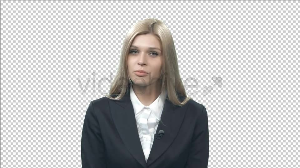 Female Newsreader  - Download Videohive 7419593