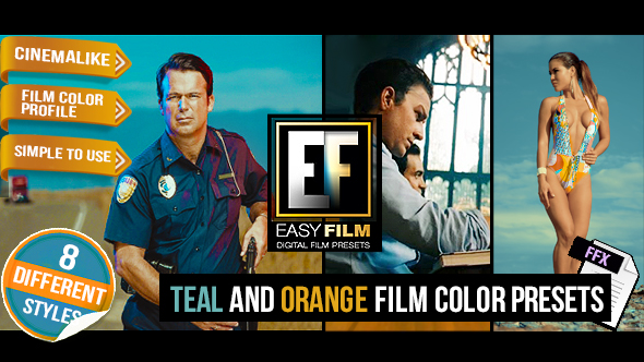 Film Color Presets - Download Videohive 16439028