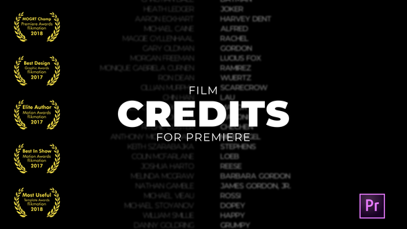 Film Credits - Download Videohive 21760971