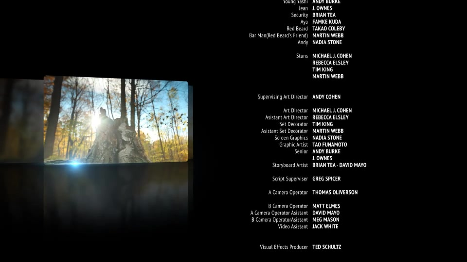 Film Credits Pack - Download Videohive 11227612