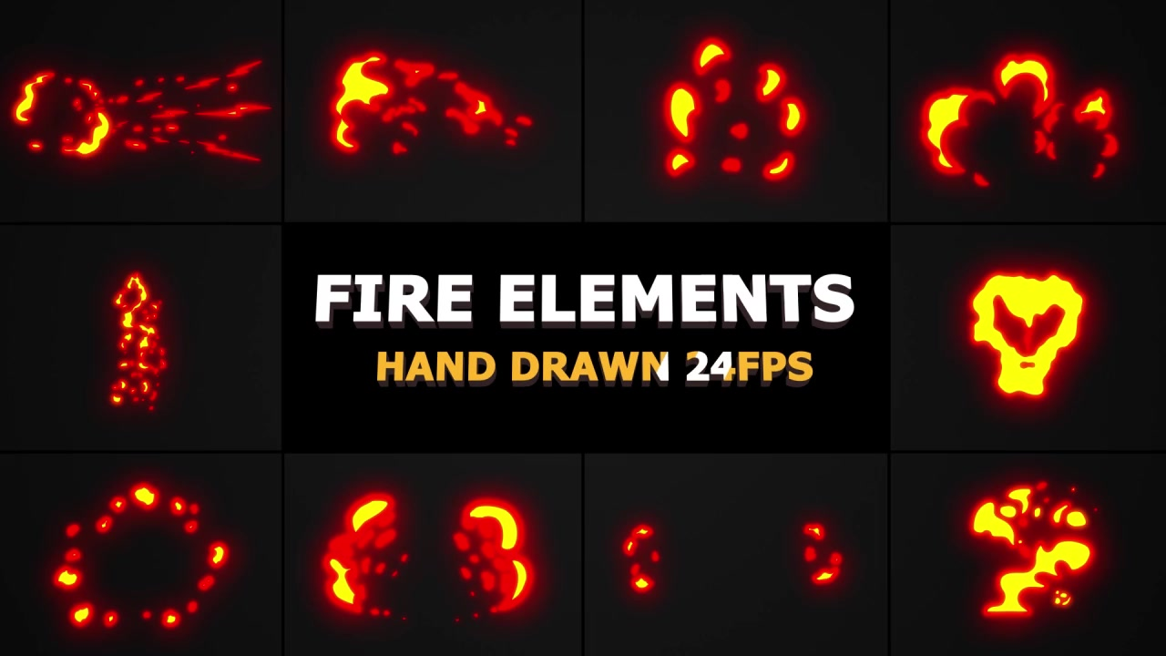 Fire Elements Pack - Download Videohive 21804836