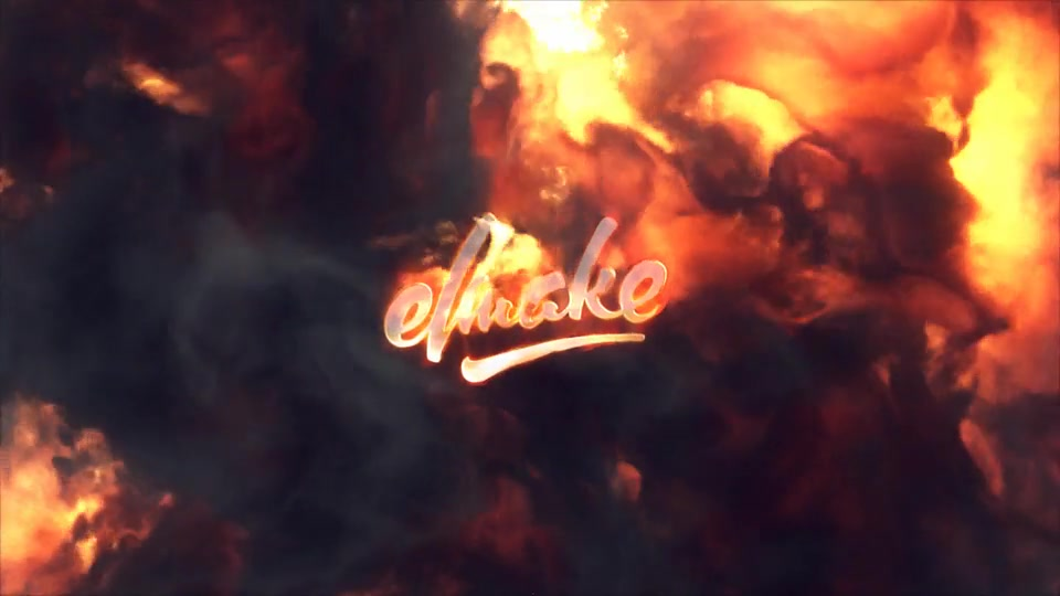 Fire Explosion Logo Videohive 25581039 After Effects Image 3