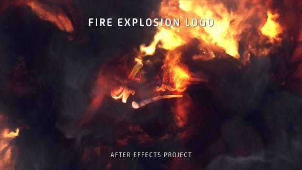 Fire Explosion Logo - Download Videohive 25581039