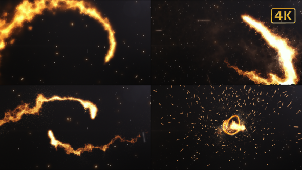 Fire Logo Cinematic - Download Videohive 19490181