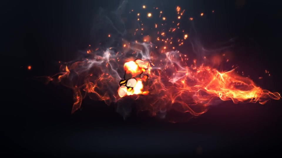 Fire Logo Intro - Download Videohive 20215162