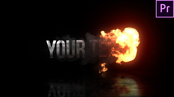 Fire Reveal Title - Download Videohive 22821182