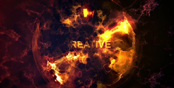 Fire Sphere Intro - Videohive Download 7966074