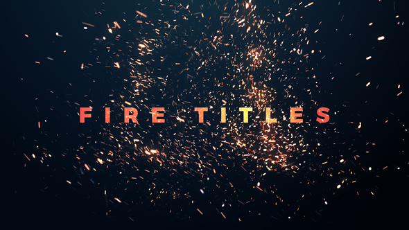 Fire Titles - Download Videohive 21787342