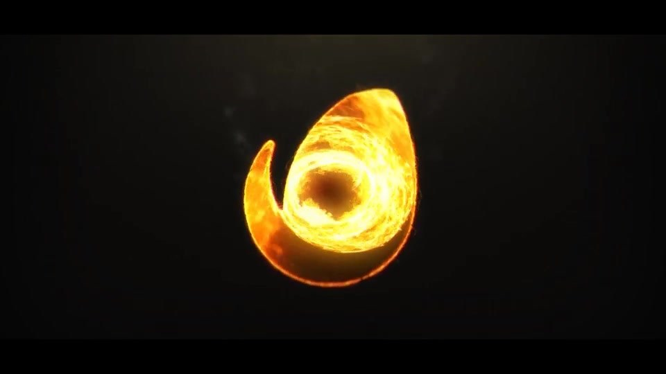 Fire Vortex Logo - Download Videohive 19438036