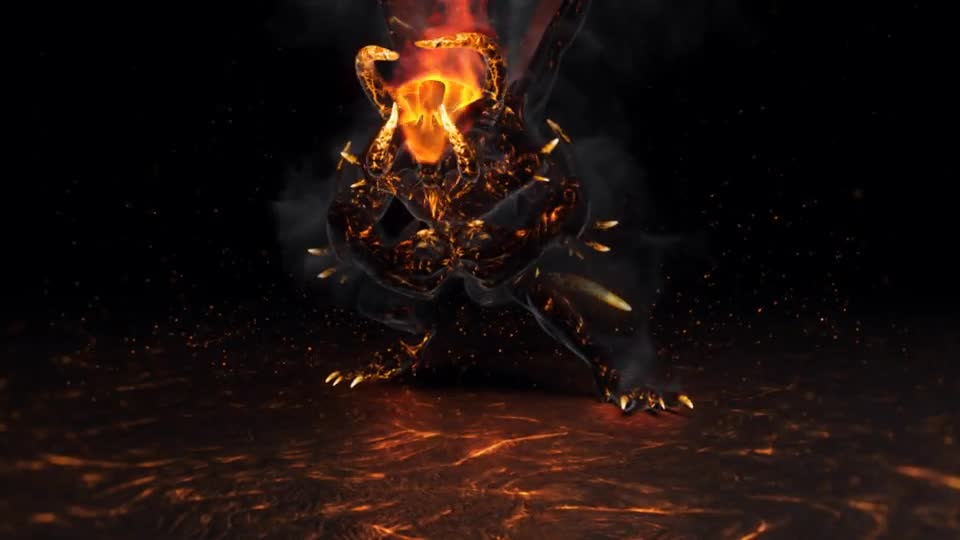 Flame Demon Fire Logo Videohive 24566105 After Effects Image 1